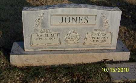 "JONES, E. B. ""DICK"" - Lubbock County, Texas 