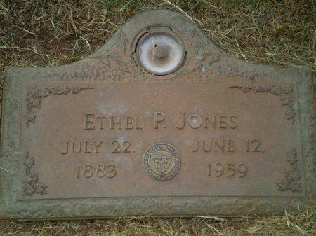 JONES, ETHEL P. - Lubbock County, Texas | ETHEL P. JONES - Texas Gravestone Photos