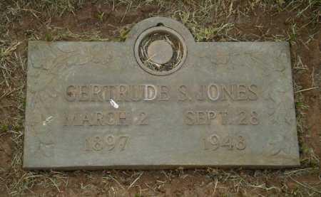 JONES, GERTRUDE S. - Lubbock County, Texas | GERTRUDE S. JONES - Texas Gravestone Photos