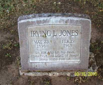 JONES, IRVING L. - Lubbock County, Texas | IRVING L. JONES - Texas Gravestone Photos