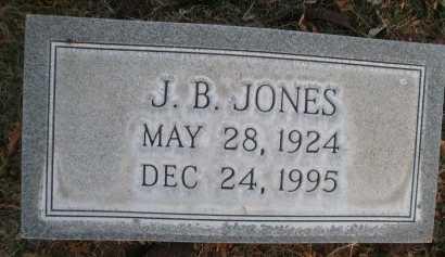 JONES, J. B. - Lubbock County, Texas | J. B. JONES - Texas Gravestone Photos