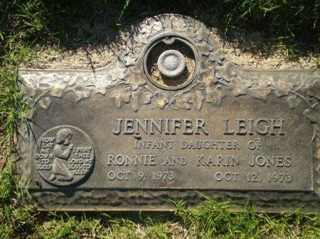 JONES, JENNIFER LEIGH - Lubbock County, Texas   JENNIFER LEIGH JONES - Texas Gravestone Photos