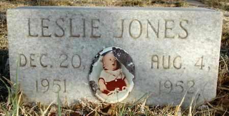 JONES, LESLIE KIRK - Lubbock County, Texas | LESLIE KIRK JONES - Texas Gravestone Photos