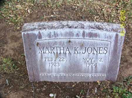 JONES, MARTHA K. - Lubbock County, Texas | MARTHA K. JONES - Texas Gravestone Photos