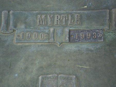 JONES, MYRTLE (CLOSEUP) - Lubbock County, Texas | MYRTLE (CLOSEUP) JONES - Texas Gravestone Photos