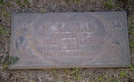 JONES, NOLA JAN - Lubbock County, Texas | NOLA JAN JONES - Texas Gravestone Photos