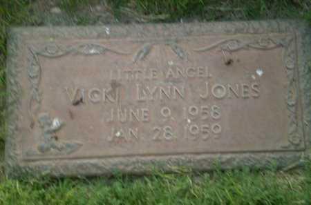 JONES, VICKI LYNN - Lubbock County, Texas | VICKI LYNN JONES - Texas Gravestone Photos