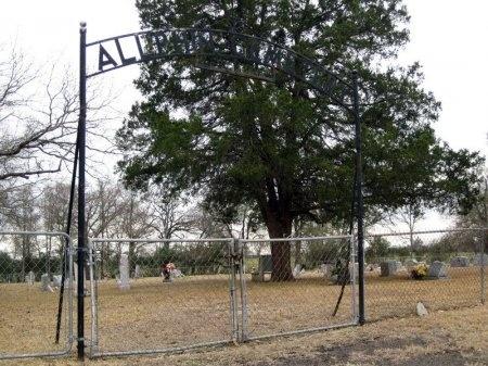 *ALLPHIN ENTRANCE,  - Madison County, Texas |  *ALLPHIN ENTRANCE - Texas Gravestone Photos