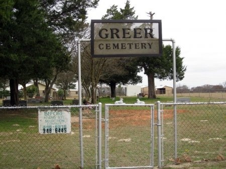*GREER ENTRANCE,  - Madison County, Texas |  *GREER ENTRANCE - Texas Gravestone Photos
