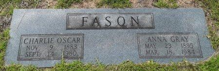 FASON, ANNA GRAY - Marion County, Texas | ANNA GRAY FASON - Texas Gravestone Photos