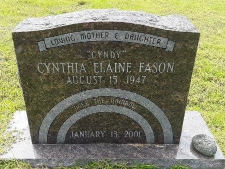 FASON, CYNTHIA ELAINE - Marion County, Texas | CYNTHIA ELAINE FASON - Texas Gravestone Photos