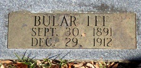 LIGHT, BULAR LEE (CLOSE UP) - Marion County, Texas   BULAR LEE (CLOSE UP) LIGHT - Texas Gravestone Photos