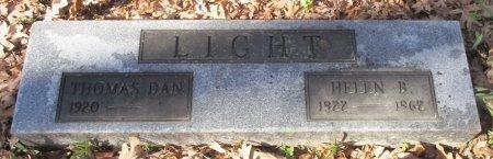 LIGHT, HELEN B. - Marion County, Texas | HELEN B. LIGHT - Texas Gravestone Photos
