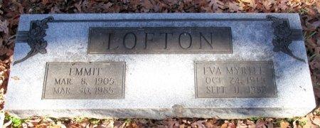 LOFTON, EMMIT - Marion County, Texas | EMMIT LOFTON - Texas Gravestone Photos