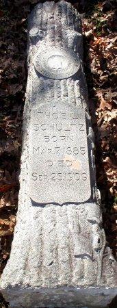 SCHULTZ, THOS. L - Marion County, Texas | THOS. L SCHULTZ - Texas Gravestone Photos