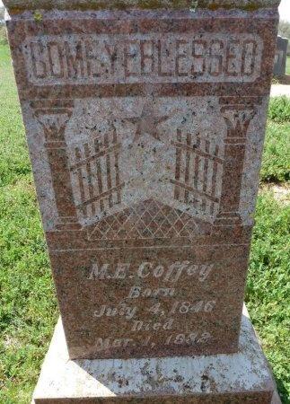 COFFEY, MARY E. - Mason County, Texas | MARY E. COFFEY - Texas Gravestone Photos