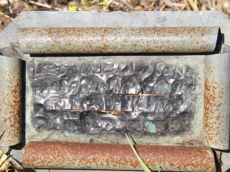 """ELLISON, GEORGE WASHINGTON """"WASH"""" - Mason County, Texas   GEORGE WASHINGTON """"WASH"""" ELLISON - Texas Gravestone Photos"""