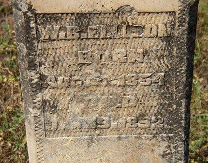 ELLISON, W. B. - Mason County, Texas | W. B. ELLISON - Texas Gravestone Photos