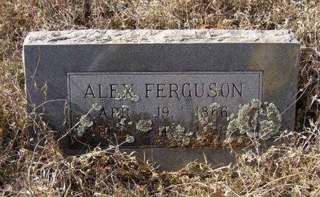FERGUSON, ALEX - Mason County, Texas   ALEX FERGUSON - Texas Gravestone Photos