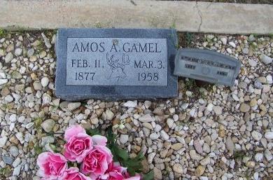 GAMEL, AMOS A. - Mason County, Texas | AMOS A. GAMEL - Texas Gravestone Photos