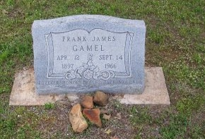GAMEL, FRANK JAMES - Mason County, Texas | FRANK JAMES GAMEL - Texas Gravestone Photos