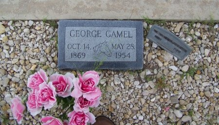 GAMEL, GEORGE - Mason County, Texas | GEORGE GAMEL - Texas Gravestone Photos