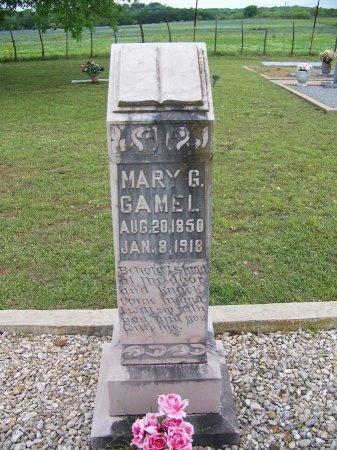 GAMEL, MARY G. - Mason County, Texas | MARY G. GAMEL - Texas Gravestone Photos