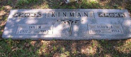 KINMAN, IVA M. - Mason County, Texas   IVA M. KINMAN - Texas Gravestone Photos
