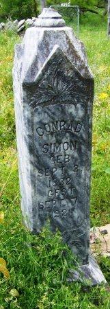 SIMON, CONRAD - Mason County, Texas | CONRAD SIMON - Texas Gravestone Photos