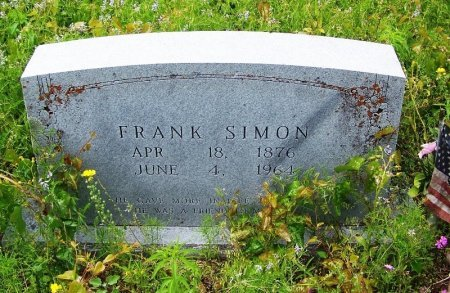 SIMON, FRANK - Mason County, Texas | FRANK SIMON - Texas Gravestone Photos