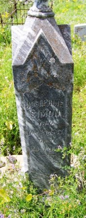 SIMON, JOSEPHINE - Mason County, Texas | JOSEPHINE SIMON - Texas Gravestone Photos