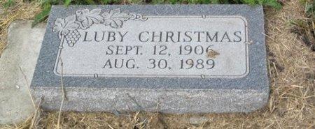 CHRISTMAS, LUBY - Matagorda County, Texas   LUBY CHRISTMAS - Texas Gravestone Photos