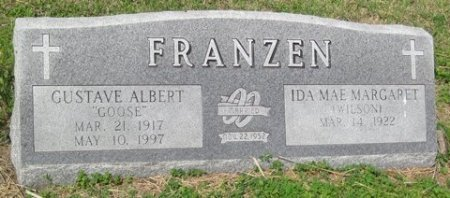 FRANZEN, IDA MAE MARGARET - Matagorda County, Texas | IDA MAE MARGARET FRANZEN - Texas Gravestone Photos