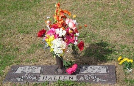 HALFEN, JACK HAROLD - Matagorda County, Texas   JACK HAROLD HALFEN - Texas Gravestone Photos