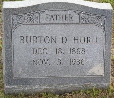 HURD, BURTON D. - Matagorda County, Texas | BURTON D. HURD - Texas Gravestone Photos