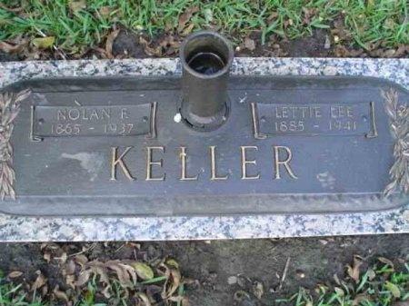 KELLER, NOLAN F. - Matagorda County, Texas | NOLAN F. KELLER - Texas Gravestone Photos
