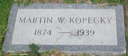 KOPECKY, MARTIN W. - Matagorda County, Texas | MARTIN W. KOPECKY - Texas Gravestone Photos