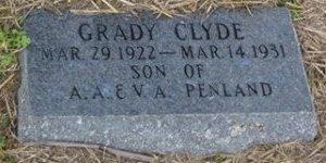 PENLAND, GRADY CLYDE - Matagorda County, Texas | GRADY CLYDE PENLAND - Texas Gravestone Photos