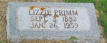 HILL PRIMM, LIZZIE - Matagorda County, Texas | LIZZIE HILL PRIMM - Texas Gravestone Photos