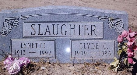 SLAUGHTER, MABEL LYNETTE - Maverick County, Texas | MABEL LYNETTE SLAUGHTER - Texas Gravestone Photos