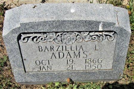 ADAMS, BARZILLIA L. - McCulloch County, Texas | BARZILLIA L. ADAMS - Texas Gravestone Photos