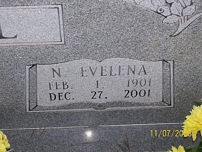 ABEL, NETTIE EVELENA (CLOSEUP) - McLennan County, Texas | NETTIE EVELENA (CLOSEUP) ABEL - Texas Gravestone Photos