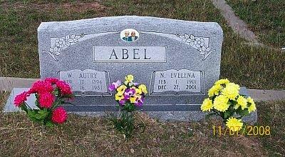 GUINN ABEL, NETTIE EVELENA - McLennan County, Texas   NETTIE EVELENA GUINN ABEL - Texas Gravestone Photos