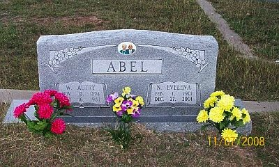 ABEL, WILLIAM AUTRY - McLennan County, Texas | WILLIAM AUTRY ABEL - Texas Gravestone Photos