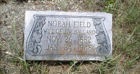 BALLARD, NORAH FIELD - McLennan County, Texas | NORAH FIELD BALLARD - Texas Gravestone Photos