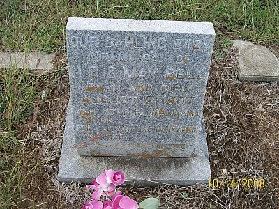 BELL, INFANT DAUGHTER - McLennan County, Texas | INFANT DAUGHTER BELL - Texas Gravestone Photos