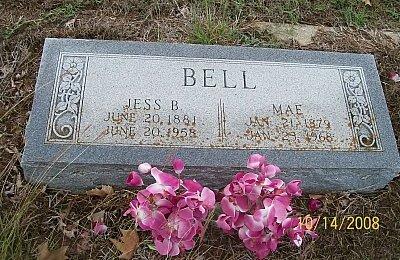 BELL, JESS B. - McLennan County, Texas | JESS B. BELL - Texas Gravestone Photos