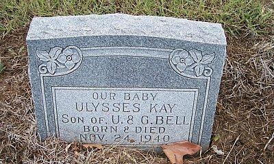BELL, ULYSSES KAY - McLennan County, Texas   ULYSSES KAY BELL - Texas Gravestone Photos