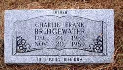 BRIDGEWATER, CHARLIE FRANK - McLennan County, Texas   CHARLIE FRANK BRIDGEWATER - Texas Gravestone Photos