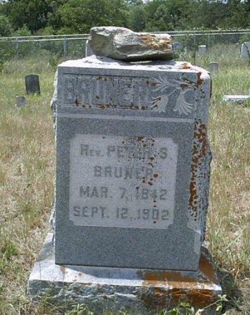 BRUNER, PETER SWINK - McLennan County, Texas   PETER SWINK BRUNER - Texas Gravestone Photos